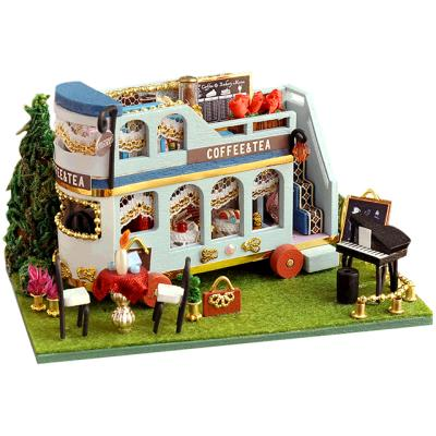DIY 미니어처하우스 무빙 카페