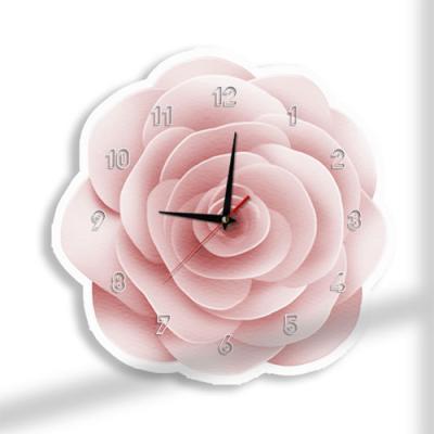 nz081-인테리어벽시계_핑크로즈