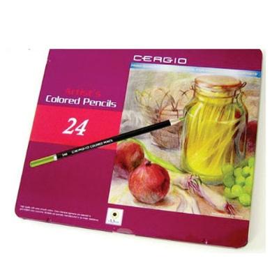 세르지오 유성색연필 24색세트
