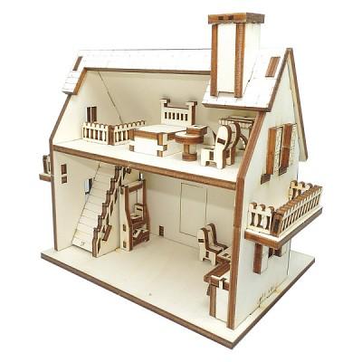 인형의 집 만들기 Gothic House 만들기 키트 ARCH2015003