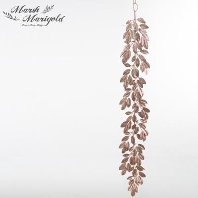골드 잎사귀 가랜드2 FM386-0512