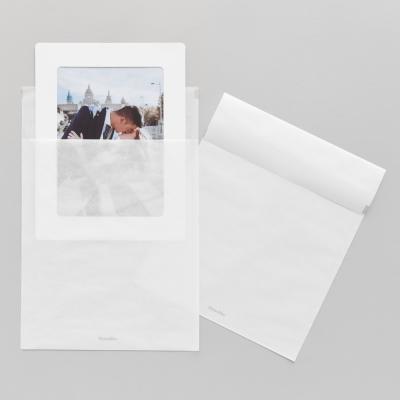 반투명 종이봉투 L 20매 - 5x7 종이액자용