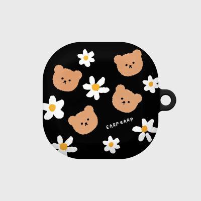 Dot flower bear-black(buds live hard)