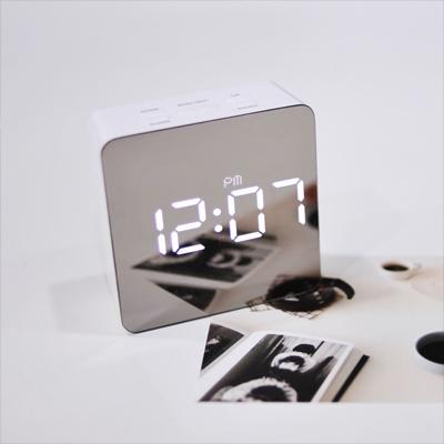 [무아스] LED 알람시계 미러클락 거울시계 2종