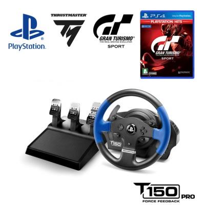 PS4 그란투리스모 스포트 + T150 PRO FFB 레이싱휠