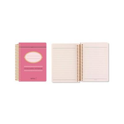 Color Paper Notebook(A7) - 라즈베리