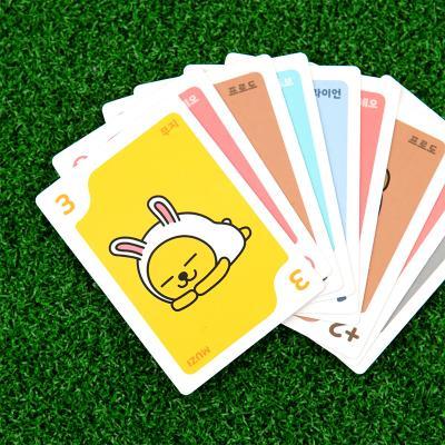 카카오프렌즈 원카드 게임 / 7세이상 2-8인