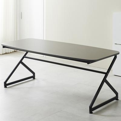 심플라인 디자인 철제 회의 테이블 2000