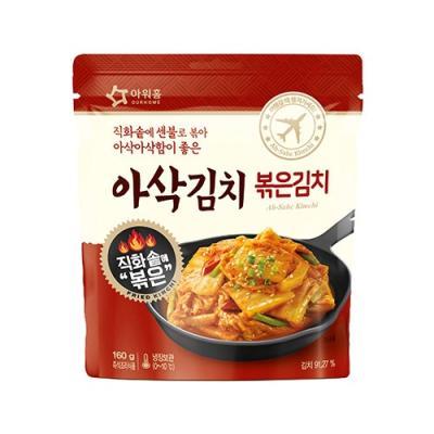 [아워홈] 아삭김치 볶은김치(160g)
