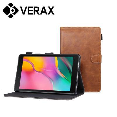 T039 탭A7 10.4 T505 베이직 플랫 가죽 태블릿 케이스