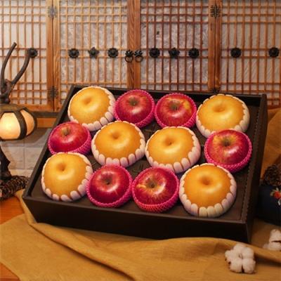 [과일명가] 가을햇살 담은 사과,배 혼합세트 5.5kg