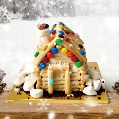 쿠키하우스 만들기 DIY 노오븐 과자집 만들기