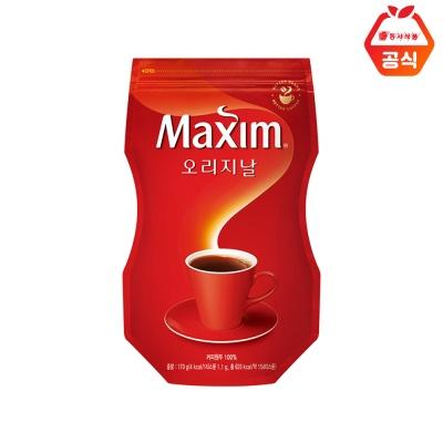 맥심 오리지널 리필용 커피 170g