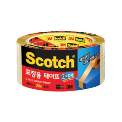 스카치 포장용 테이프 3615 갈색 143232