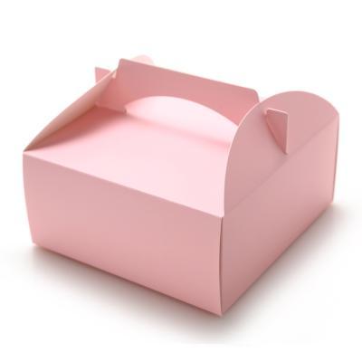 브라우니 포장박스 (4호) - 핑크