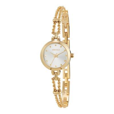 세이렌 골드 믹스 시계 W195MWGD-1