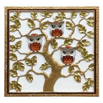 홈스타일링 부엉이 나무 부조액자CH1485732