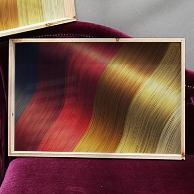 tf874-우드프레임액자_염색한머리카락색상