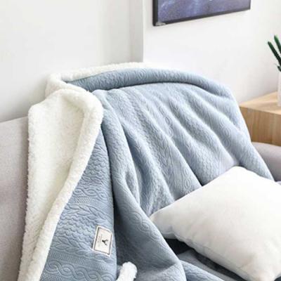 winter warm 스웨터 담요 85x120cm 2color