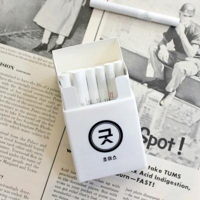 화이트 담배케이스