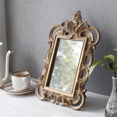 [2HOT] 로망스 골드 탁상 거울