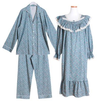 [쿠비카]모달 코튼 마리 원피스 커플 순면잠옷 WM193