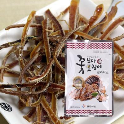 [의리있는오징어] 꽃보다 오징어 15gx5팩(슬라이스)