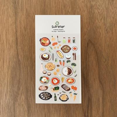 JR 스티커 1091-food trip #2