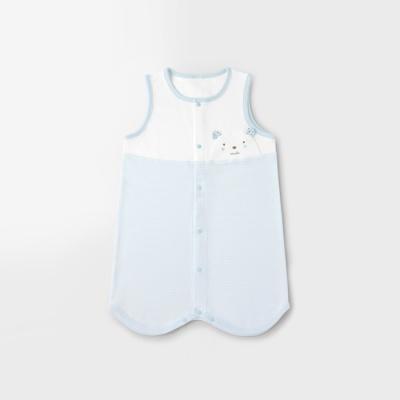 [메르베] 곰돌이M 아기 수면조끼_사계절용