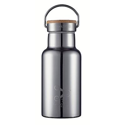 스테인레스 보온 보냉 물병 350ml (대나무캡/미러)
