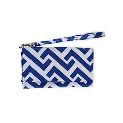 [ALL FOR COLOR]ID Wristlet_Nautical-Tide