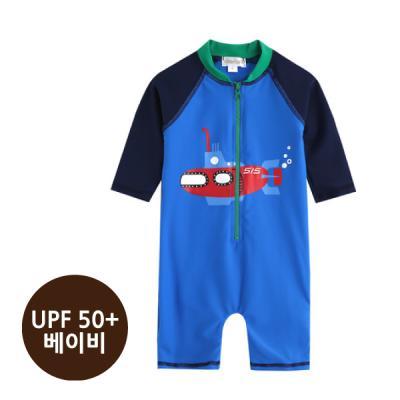 [베이비수영복] 잠수함수영복_(UPF50+) 영유아수영복 수트수영복