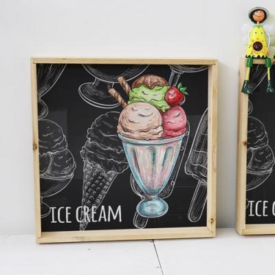 tf868-우드프레임액자_골라먹는아이스크림