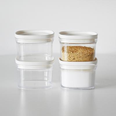 캐니 다용도 냉장고 투명 정리용기 조미료통 소