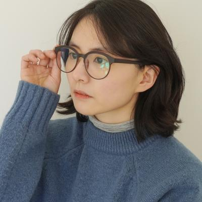 BXO 블루라이트 차단 렌즈 안경 동글이 안경테 4color