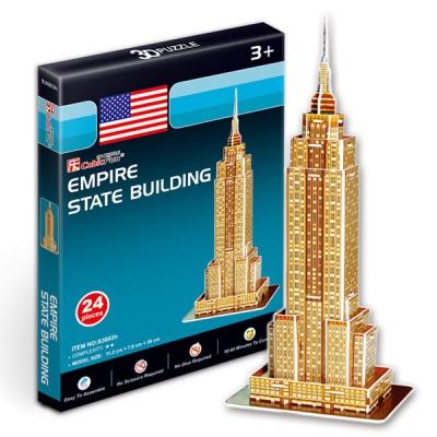 세계유명건축물 입체퍼즐 엠파이어스테이트 빌딩 미니