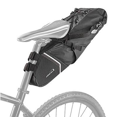 아이베라 백로더 대용량 완전방수 자전거안장가방