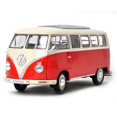 [웰리]1:18 폭스바겐 T1 버스- (12531) /폭스바겐 /버스/모형자동차/다이캐스트/