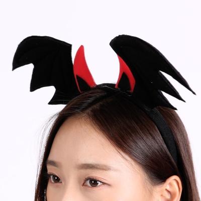 악마날개머리띠 [블랙]