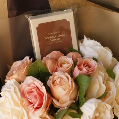 잉글리쉬 로즈 수제초콜릿 사탕꽃다발