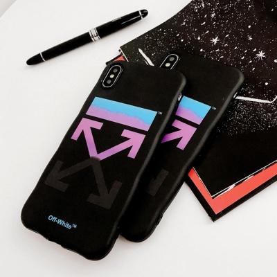 아이폰XR XSMAX 8 7 오프 그라데이션 슬림하드 케이스
