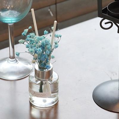 bath room 안개꽃 미니 디퓨저 50ml(블루)