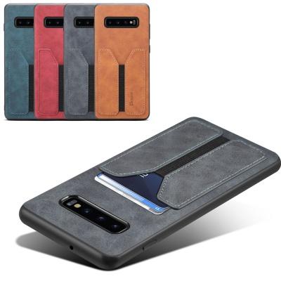 갤럭시S20/S20+/Ultra 5G 밴드 카드포켓 가죽 케이스