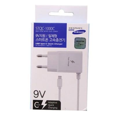 스마트폰 고속충전기 일체형 C타입(STQC 1000C)