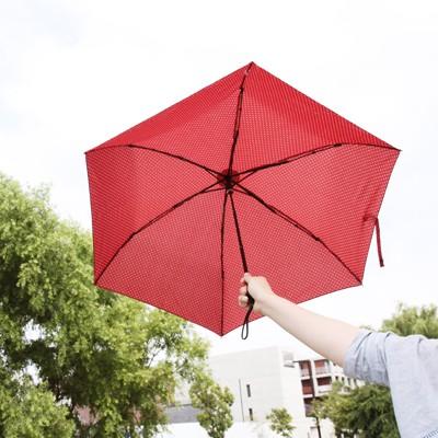 [A Rainy Day] SUNNY SIDE 3단 슬림 우양산-DOT(2컬러)