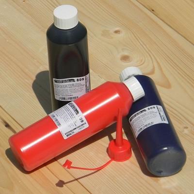 [Colop] 250ml 대용량 일본산 불멸잉크-오스트리아 컬럽 PREMIUM Quick Dryind ink 809