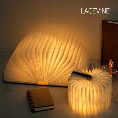 레이스빈 LED 원목 책 무드등 조명 수면등