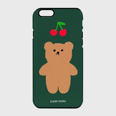 Cherry big bear-dark green(터프/슬라이드)