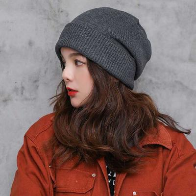 Invierno Mujer knit 두겹 beanie 5color CH1646811