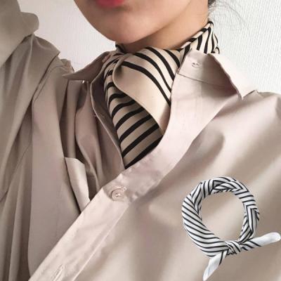 티카 여성 포인트 스카프 트윌리